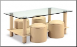Coffee Table Set By Global Furnituren USA  (25) (SKU: GL-25-CTSET-CAP)