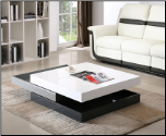 J & M Modern Rotary Coffee Table 3 Levels CW01 (SKU: JM-MM35316)