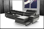 OREGON 1 -   ITALIAN LEATHER SECTIONAL BY J&M FURNITURE USA (SKU: JM-Oregon1)