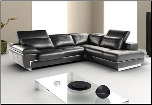 OREGON II -   ITALIAN LEATHER SECTIONAL BY J&M FURNITURE USA (SKU: JM-OregonII)