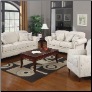 Coaster  Norah Antique Inspired Living Room set with Nail Head Trim by Coaste
