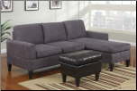 POUNDEX 3 PCS SECTIONAL S7285 (SKU: PXSS-S7285-SECTIONAL)