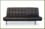 Trio Leather Sofa Bed (SKU: AHU-TRIOB)