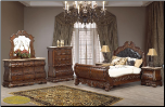 Cleopatra Milan Cosmos - Bedroom - Furniture (SKU: Cos-CleopatraMilan-Queenbedroomset-)