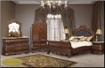 Cleopatra Roma Cosmos - Bedroom - Furniture (SKU: Cos-CleopatraRoma-Queenbedroomset--)
