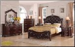 6 PCS CORAL Cosmos - Bedroom  Set - Furniture (SKU: Cos-Coral-Kingbedroomset)
