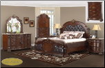 Infinity Cherry  Cosmos - Bedroom - Furniture (SKU: Cos-Infinity Cherry -Kingbedroom)