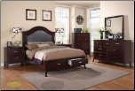 6 PCS KATE  Cosmos - Bedroom  Set - Furniture (SKU: Cos-Kingbedroomset)