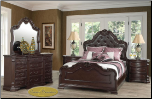 6 PCS  Kimberly Cosmos - Bedroom  Set - Furniture (SKU: Cos-Kimerly-King bedroomset)