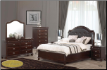 6 PCS Tango Cosmos - Bedroom  Set - Furniture (SKU: Cos-Tango-Queenbedroomset)