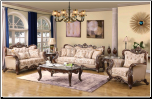 6 PCS  Olivia Cosmos - Bedroom  Set - Furniture (SKU: Cos-Olivia -Kingbedroomset)