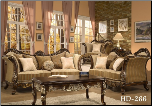 Homey Design 2 Piece Sofa Set Living Room Set