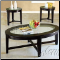 Espresso Finish Occasional Table 3 piece 18458 set