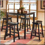 Conrad  Dinette with Rectangular Extension Table Signature Design by Ashley Furniture (SKU: AB- D202-223)
