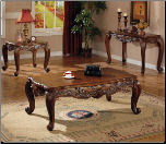 Union Square Shell and Leaf Coffee Table  Set (700468) (SKU: CO-700468)
