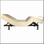 300131 Adjustable Bed with Wireless Remote by Coaster