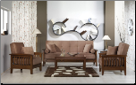 Vera 3 Pcs Living Room Set in Obsession Truffle (Sofa and 2 Chairs) - Sunset Furniture-Istikbal (SKU: IS-Vera-Set-TRUF)