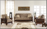 Vera 3 Pcs Living Room Set in Fulya Fume (Sofa and 2 Chairs) - Sunset Furniture-Istikba (SKU: IS-Vera-Set-FUM)