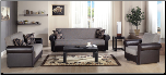 Enea Living Room Set  Collection - Rainbow Redeyef Brown - Istikbal - Sunset