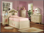 Doll House Twin Post Bed Collection