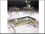 Egyptian 3pc Coffee/End Table Set