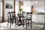 Conrad  Dinette with Rectangular Extension Table Signature Design by Ashley Furniture (SKU: AB- D381-13-124)