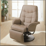 Swivel Recliner with Flared Arms (SKU: CO-7502)