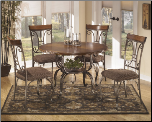 Signature Desig D313 Plentywood  5-Piece Dining Room Set (SKU: AB-D313)