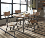 Ashley Signature Design by Ashley Dining Room Table and 4 Side Chairs SET  D421