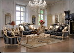 Homey Design - HD-03 3 Piece Living Room Set - HD-03-SLC