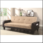 Sofa Bed and Futon with Cup Holders and Magazine Storage Coaster 300295 (SKU: 300295)