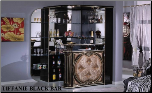TIFFANIE  BAR UNIT  BY GLASS-FORM COLLECITON (SKU: GF-TIFFANIE BLK-BS)