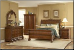 Beckenham - Sleigh Bedroom Set (Queen)