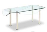 Coffee Table - Clear Glass - - Global Furniture USA(CB020)