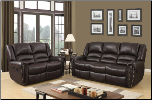 U98782 Reclining Living Room Set in Brown Bi-Cast (SKU: GL-U98782)