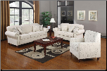 Coaster  Norah Antique Inspired Living Room set with Nail Head Trim by Coaste (SKU: CO 502511-LR)