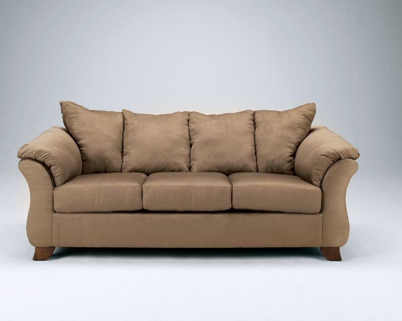 Ashley furniture mocha sofa ashley furniture microfiber for Ashley durapella chaise