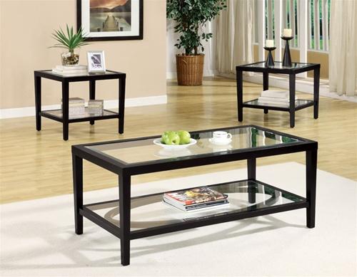 Glass Living Room Table Set: Furniture In Brooklyn At Gogofurniture.com