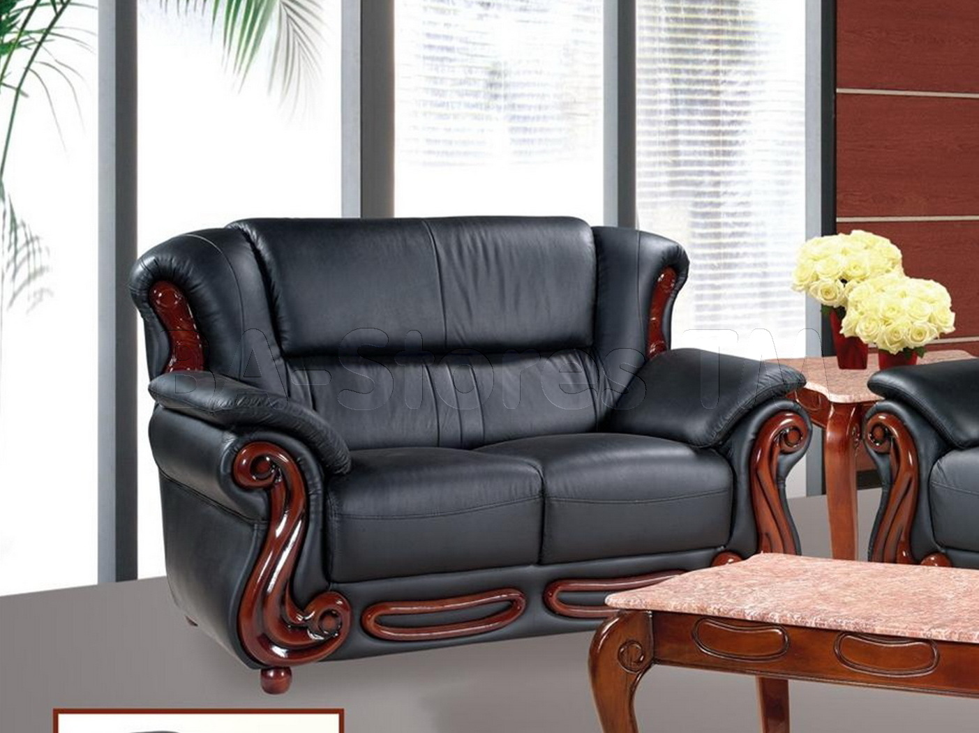 ideas ashley using media set advantage sets black living furniture room leather