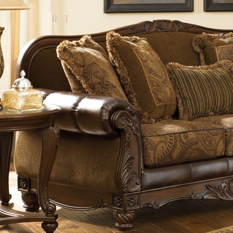 Ashley Furniture Living Room Sets Part - 43: Crawford-Chocolate Living Room Set Signature Design By Ashley Furniture