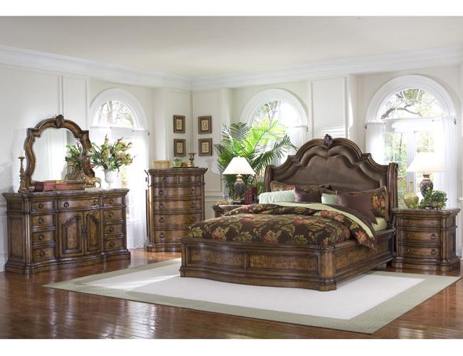 San Mateo Sleigh Bedroom Set King