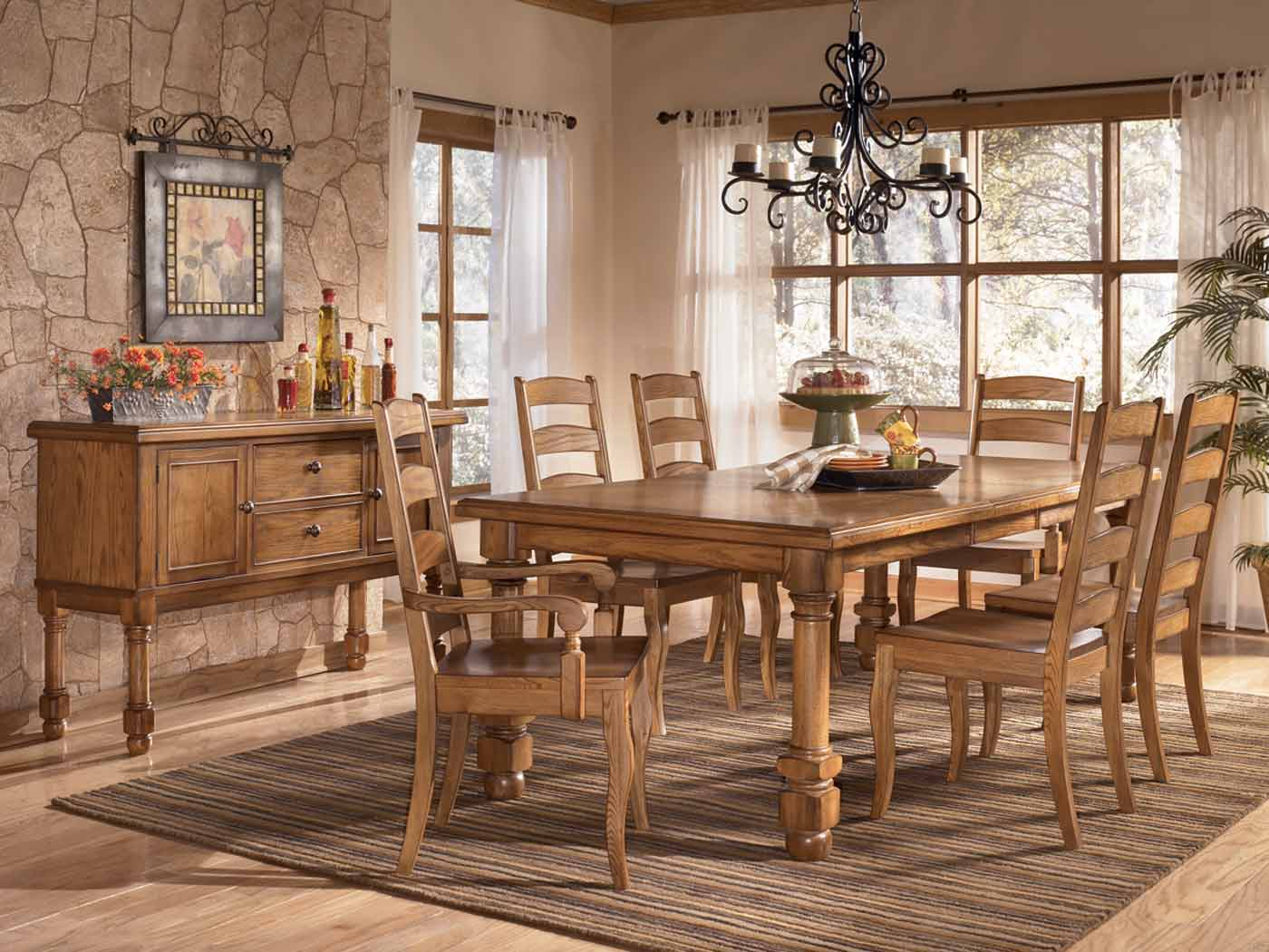 Furniture in brooklyn at for Ashley furniture dining table