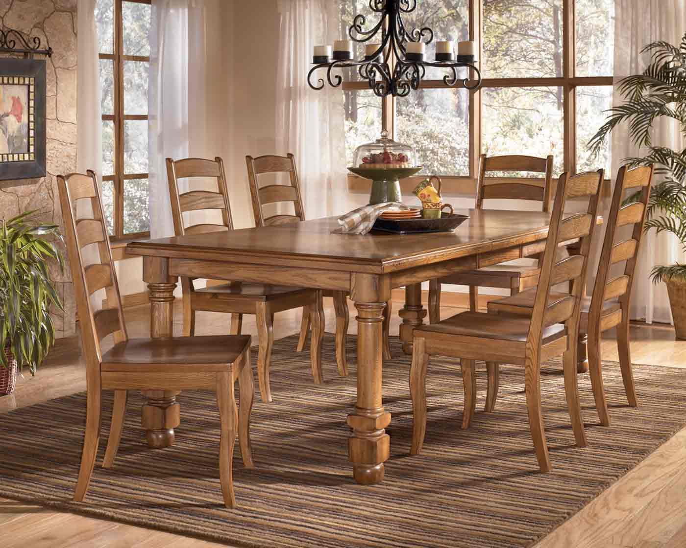 Holfield   Dining Table Set Signature Design By Ashley Furniture