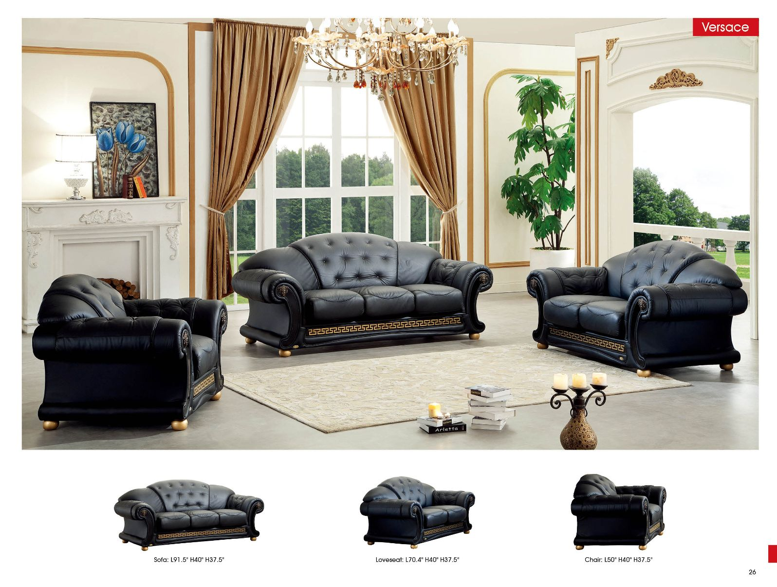 Furniture in brooklyn at - Classic living room furniture sets ...