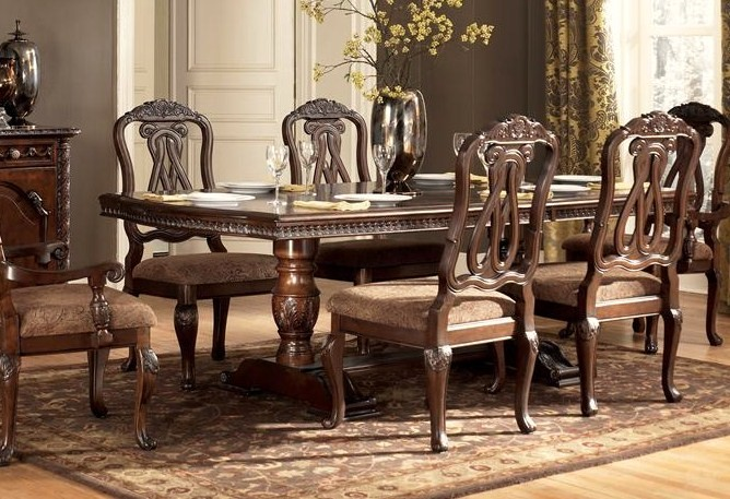 Furniture in brooklyn at - Ashley north shore dining room set ...