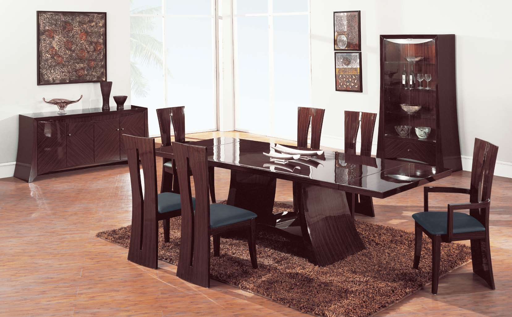 Rosa   Rosa S Dining Set By Global Furniture USA