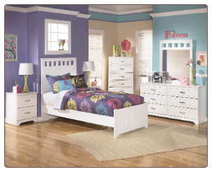 Lulu Full Panel Bedroom Set  by Signature Design