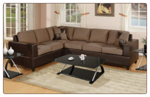 F7632- 2-Pcs Sectional Sofa