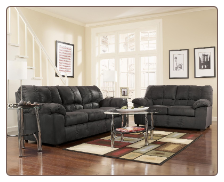 Dominator - Black Casual Stationary Living Room Set by Signature Design by Ashley