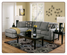 Frontier - Canyon Sofa Sectional with Console by Ashley Furniture